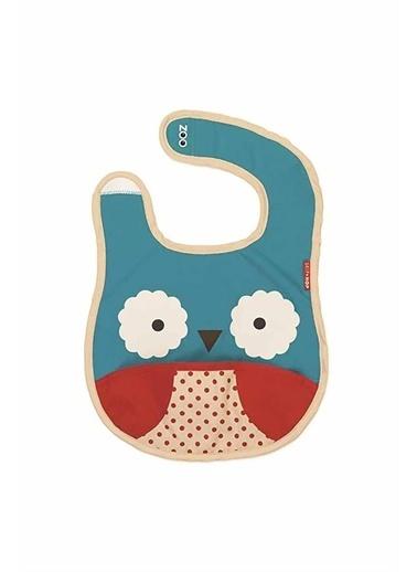Skip Hop Skip Hop Baykuş Desenli Renkli Çocuk Mama Önlüğü Pembe